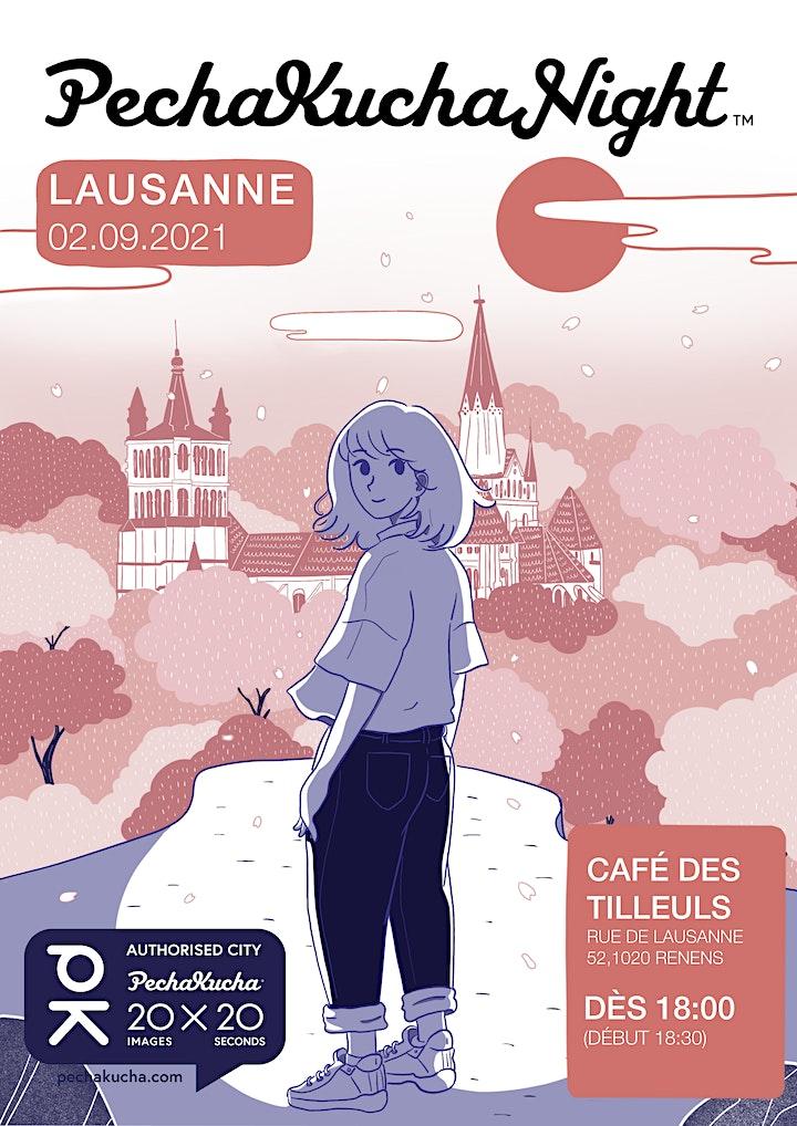 Pechakucha Lausanne  - Story telling à la Ferme des Tilleuls image