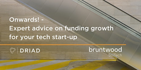 Onwards! Expert advice on funding the growth of your tech start-up. tickets