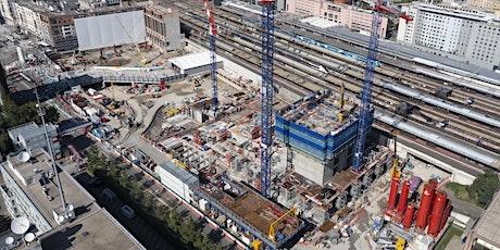Visite de chantier - De la gare à la tour To-Lyon billets