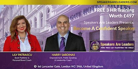 Improve Your Presentation Skills 6:00PM UK Time tickets
