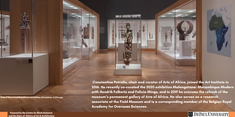Making Objects Speak: Exhibiting the Arts of Africa at the Art Institute tickets
