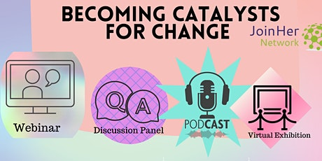 GRW/ Who Can Become A Catalyst For Change biljetter