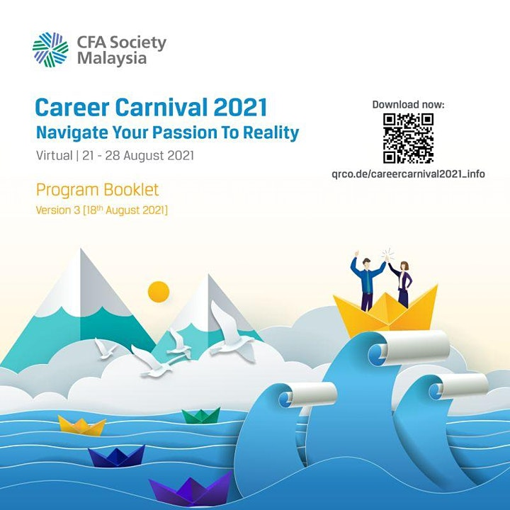 Career Carnival 2021   Navigate Your Passion to Reality image