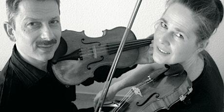 Neues bei Grieg! Gespräch und Konzert mit dem Geigenduo Gelland Tickets