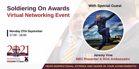 Soldiering On Awards Virtual Networking Event tickets
