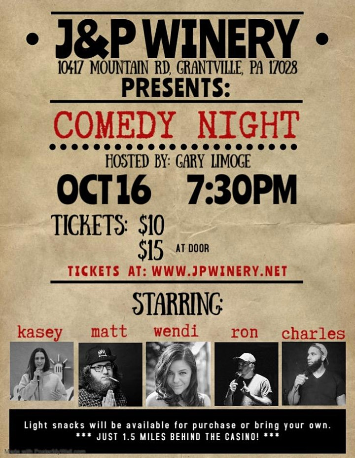 Comedy  Under the Stars! image