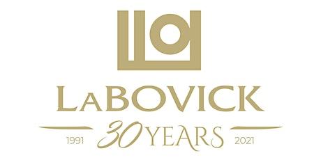 LaBovick's 30 year anniversary celebration tickets
