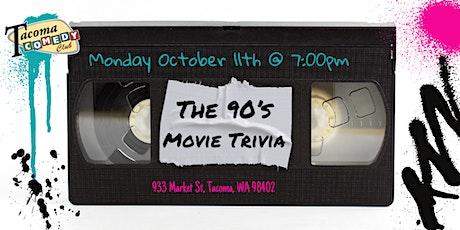90's Movie Trivia at Tacoma Comedy Club tickets