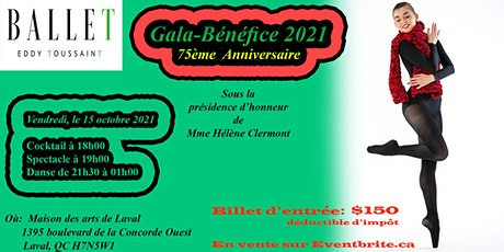Gala Bénéfice- 75ème Anniversaire billets