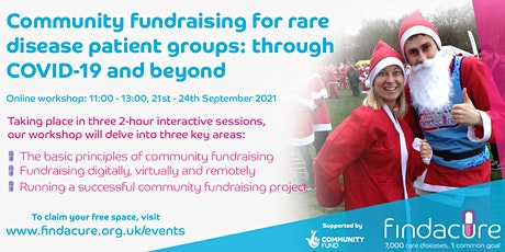 Online workshop | Community fundraising for rare disease patient groups tickets