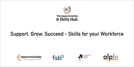 Support, Grow, Succeed - Skills for your Workforce (October) tickets