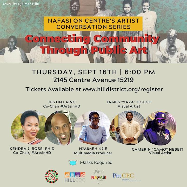 Nafasi Artist Conversation Series: Connecting Community Through Public Art image