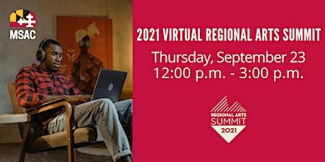 2021 Virtual Regional Arts Summit tickets