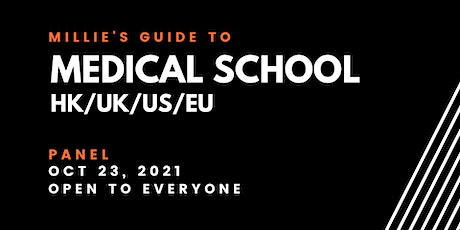 PANEL | Millie's Guide to Medical School HK/UK/US/EU tickets