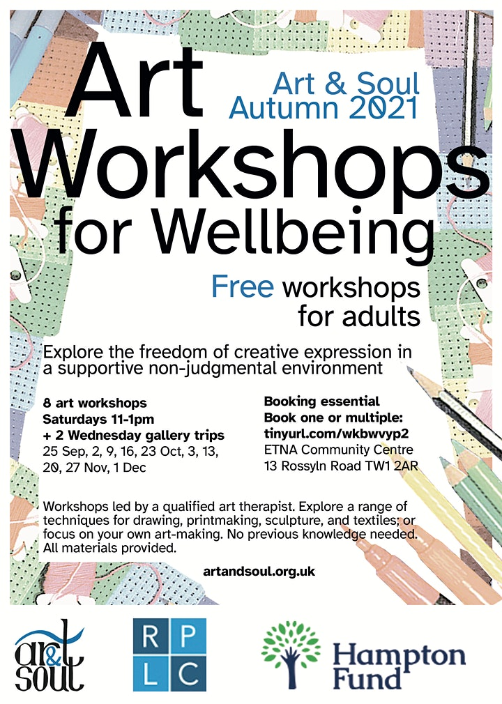 art workshops for wellbeing image