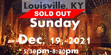 SOLD OUT LOUISVILLE, KY: A Wizard's Christmas Dinner & Marketplace SUNDAY tickets