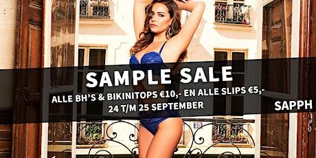SAPPH Sample Sale Maassluis tickets
