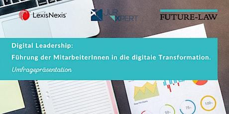 Umfragepräsentation: Digital Leadership tickets