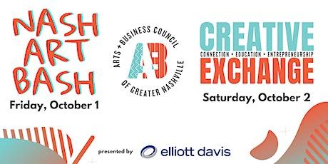 Nash Art Bash & Creative Exchange tickets