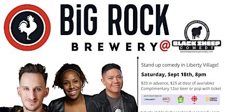 Black Sheep Comedy @ Big Rock Brewery Featuring Kyle Brownrigg tickets