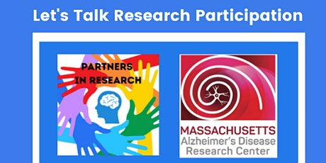 Let's Talk Research Participation tickets