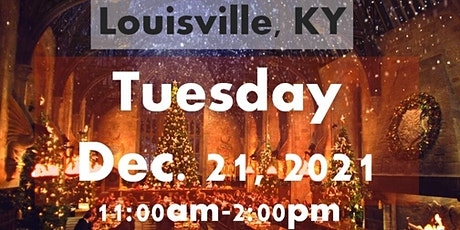 LOUISVILLE, KY: A Wizard's Christmas Dinner & Marketplace TUESDAY 11AM tickets