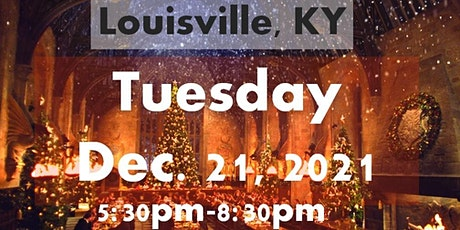 LOUISVILLE, KY: A Wizard's Christmas Dinner & Marketplace TUESDAY 5:30PM tickets
