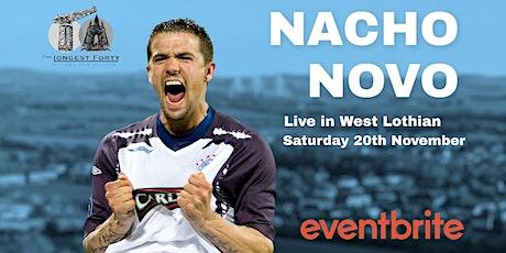 An Evening with Nacho Novo tickets