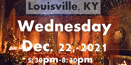LOUISVILLE, KY: A Wizard's Christmas Dinner & Marketplace WEDNESDAY 5:30PM tickets