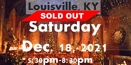 SOLD OUT LOUISVILLE, KY: A Wizard's Christmas Dinner & Marketplace SATURDAY tickets