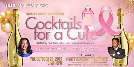 Cocktails for a Cure - A Breast Cancer Awareness fundraising event tickets