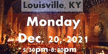 LOUISVILLE, KY: A Wizard's Christmas Dinner & Marketplace MONDAY 5:30PM tickets