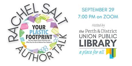 Author Talk with Rachel Salt: Your Plastic Footprint tickets
