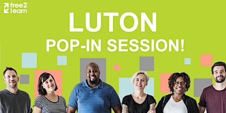 Luton Pop-in Session tickets