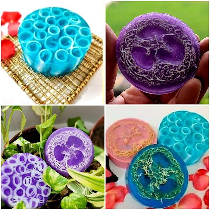 Organic Soap making workshop image