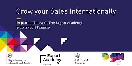 Grow your Sales Internationally - Dorset Growth Hub tickets