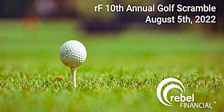 rF 10th Annual Golf Scramble tickets