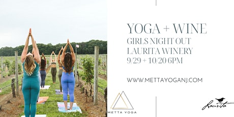 Yoga + Wine: Girls Night Out at Laurita Winery tickets