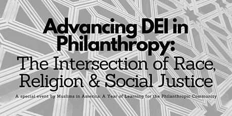 Advancing DEI in Philanthropy: A Year of Learning Special Event tickets