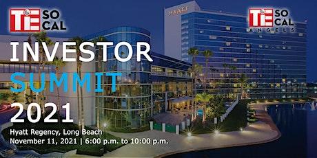 TiE SoCal Investor Summit 2021 tickets