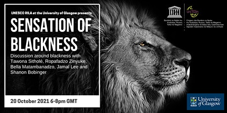 Sensation of Blackness - a discussion tickets