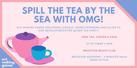 Spill the Tea by the Sea with OMG! tickets