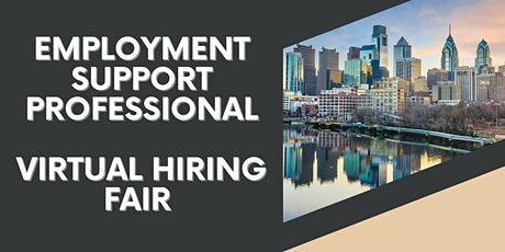Employment Support Professional Virtual Hiring Fair!  [EMP] tickets