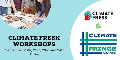 Climate Fresk Workshop - Climate Fringe COP26 (Online) tickets