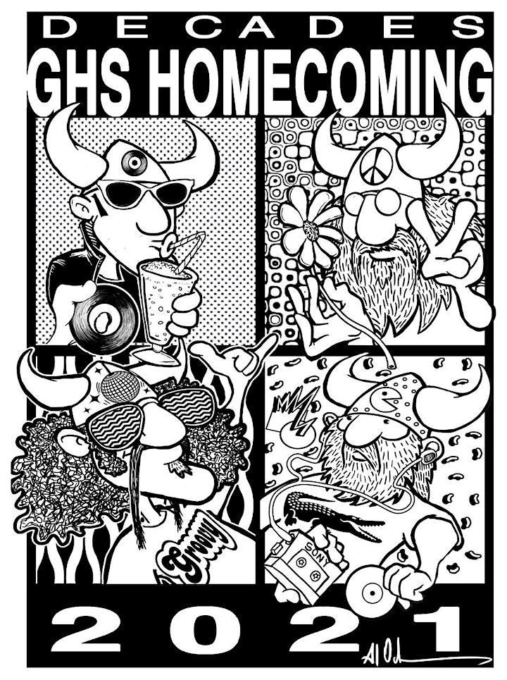 Homecoming Class Shirts/Powderpuff 2021! image