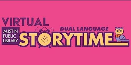 Virtual Dual Language Spanish English Storytime tickets