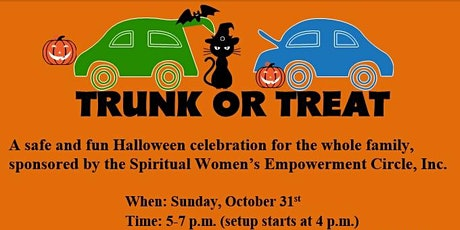 Halloween Trunk-or-Treat tickets