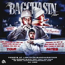 Bravo The Bagchaser Performing Live in Fresno, California tickets