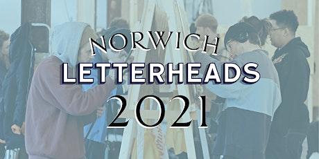 Norwich Letterheads 2021 tickets