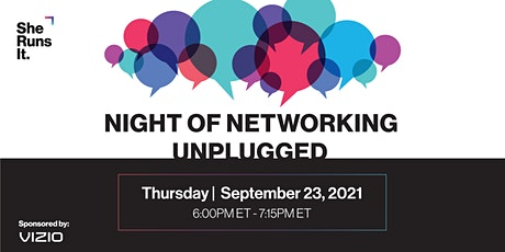 VIRTUAL EVENT: Night of Networking Unplugged tickets